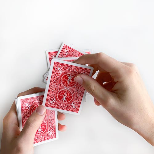 Karten abzählen