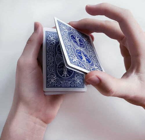 Kartentrick-Grundlagen: Double Lift