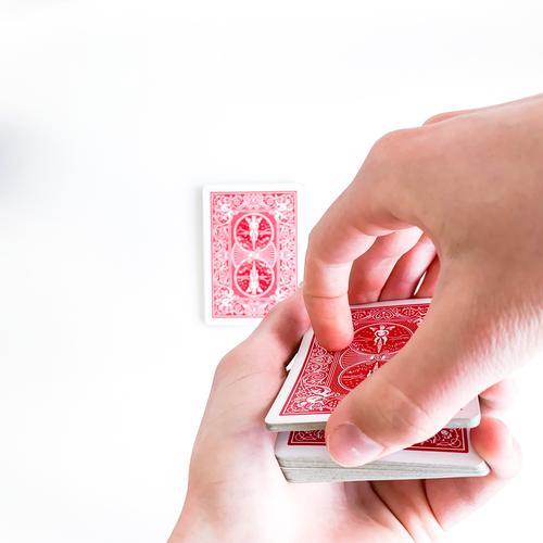 Karten werden abgehoben