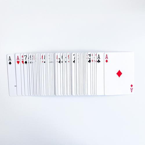 Vorbereitetes Kartendeck
